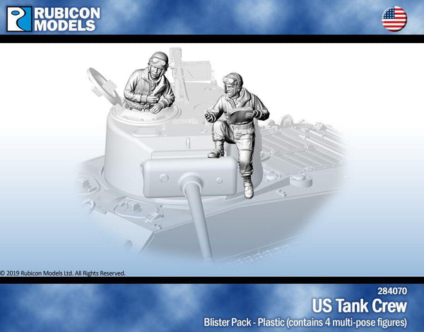 284070 - US Tank Crew- Pewter