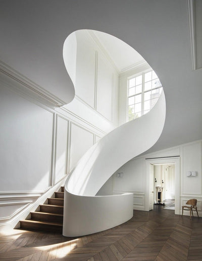 A girl can dream: Staircase goals by Steven Harris