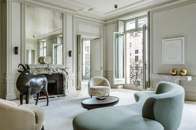 A girl can dream: Parisian apartment by Joseph Dirand