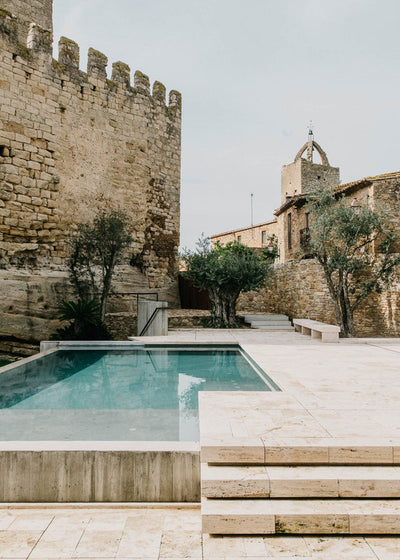 A girl can dream: Peratallada Castle in Spain