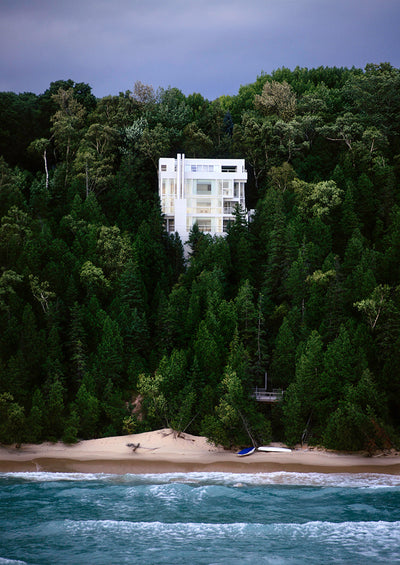 A girl can dream: The Douglas house by Richard Meier