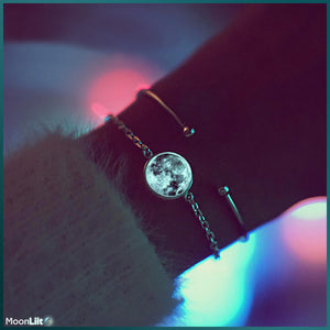 Open image in slideshow, Luminous Moon - Bracelet - MoonLiit