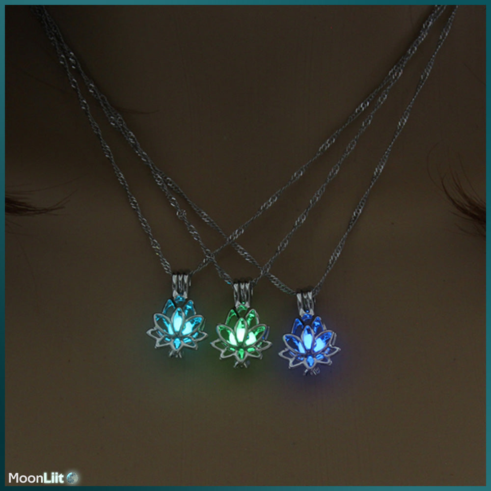 Luminous Lotus - Pendant - MoonLiit
