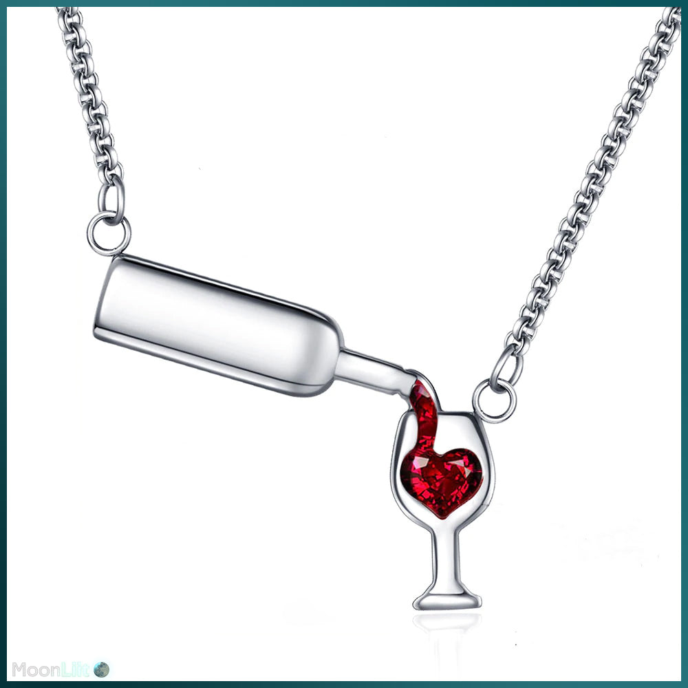 🍷 Pour My Wine - Necklace