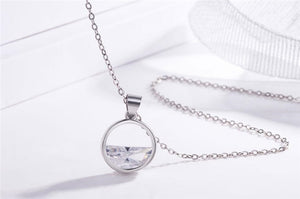 Still Water - authentic 925 sterling silver necklace