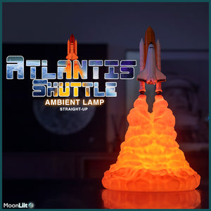 Open image in slideshow, Atlantis Shuttle Ambient Lamp [Limited Run] - MoonLiit