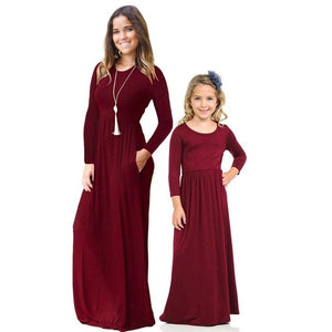 mother daughter dresses for family matching clothes mommy and me outfits look mum girl dress mom mama baby clothing christmas