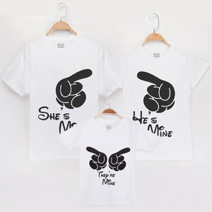 2019 Summer Family Matching Clothing 100% Cotton Short-sleeved T-shirt Mother And Daughter Baby Mommy And Me Clothes Son Look