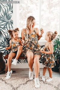 Mommy And Me Dress Clothes Summer Mother Daughter Dresses Strapless Mini Family Look Mom And Daughter Dress Family Look Clothes