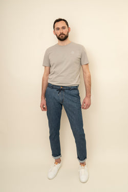 Tiago Bleached Denim - Pants