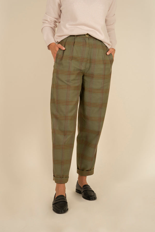 Luruh Green Pants