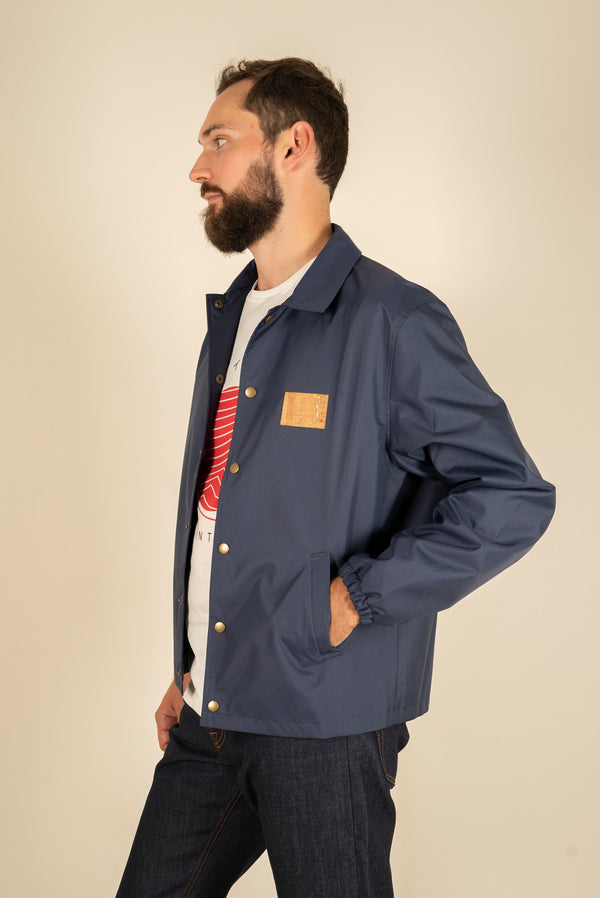 Coach Navy Jacket