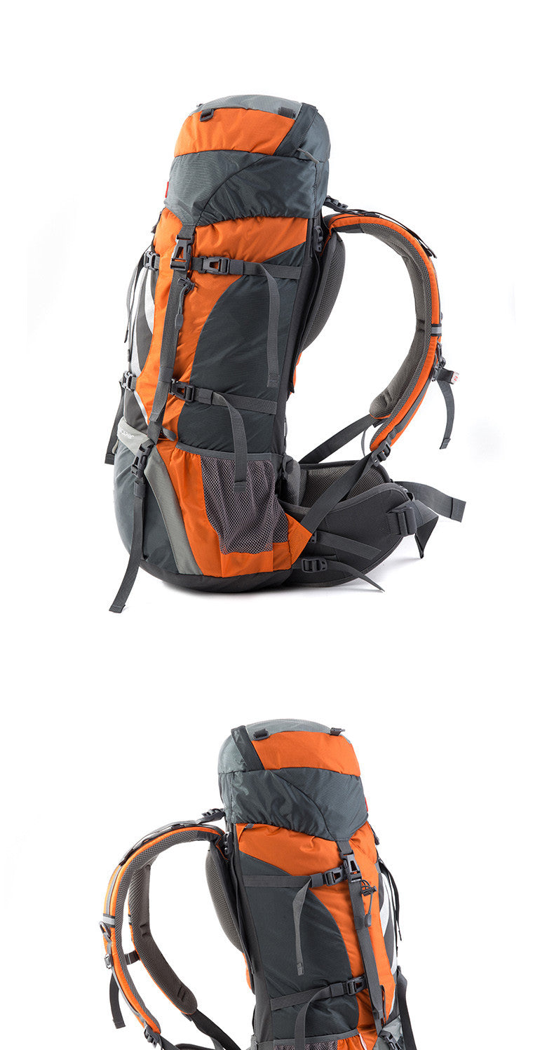 70L Large Backpack External Frame