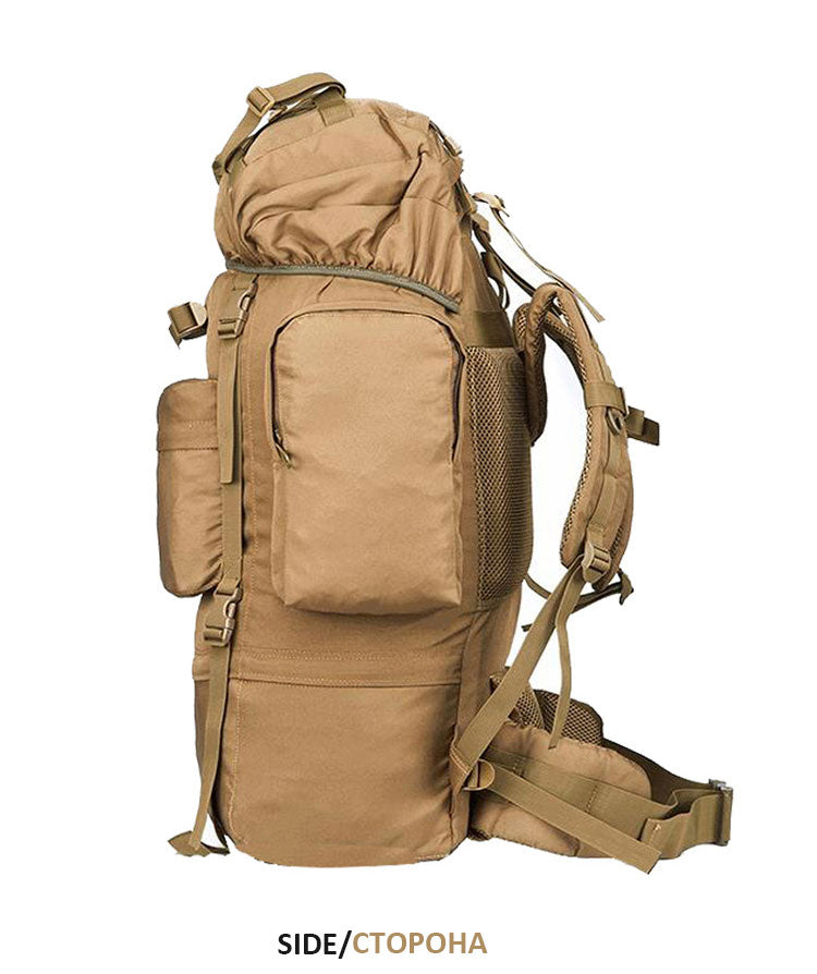 70L Outdoor Military Tactical Backpack
