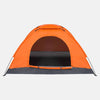 2 Person Pop Up Waterproof Camping Dome Tents Orange