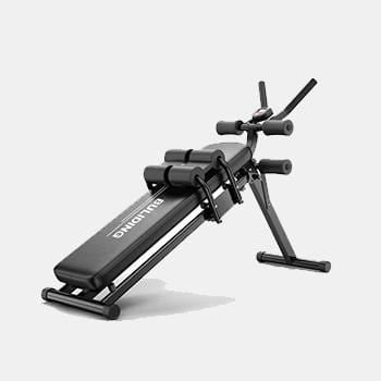 2 In 1 Foldable Fitness Tool Adjustable Abdominal Trainer