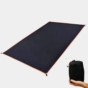 Ground Sheet For Tent Black Color Multifunctional Tarp