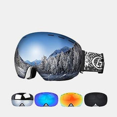 Ski Sunglass Double Layers UV Anti-fog