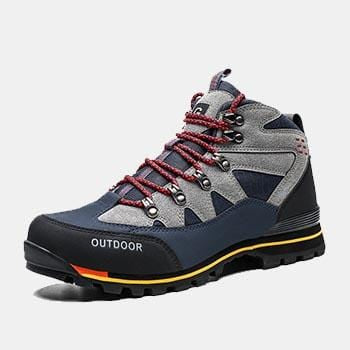 Jogging Trekking Waterproof Anti-Skidding Leather Shoes