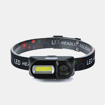 Waterproof LED Headlamp COB Work Light 6 Light Mode