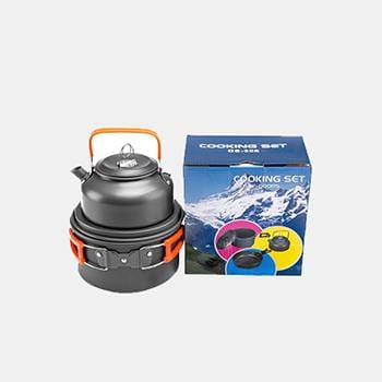 Ultra-Light Portable Outdoor Camping Cookware Hiking Cooking Set