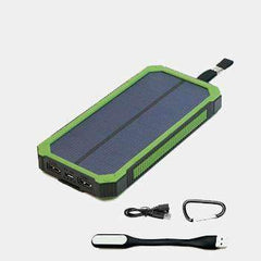 Solar 10000mAh & 30000 mAh Powerbank for iPhone & Android