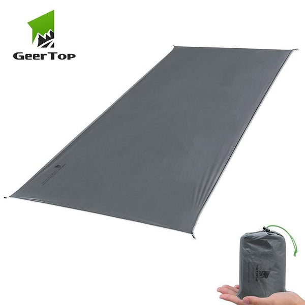 Ground Mat for Camping Grey Color Max 210x260cm