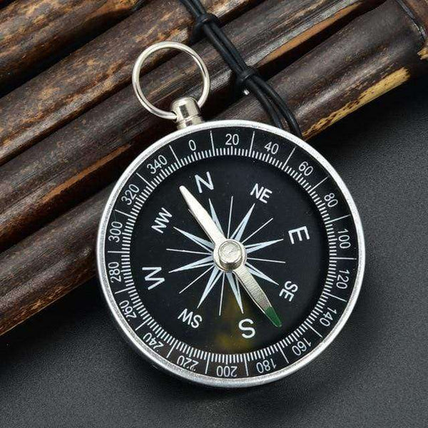 Hiking Lightweight Aluminum Wild Survival Compass