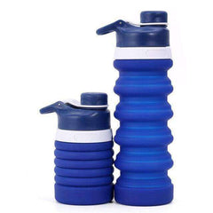 750ML Portable Silicone Water Bottle
