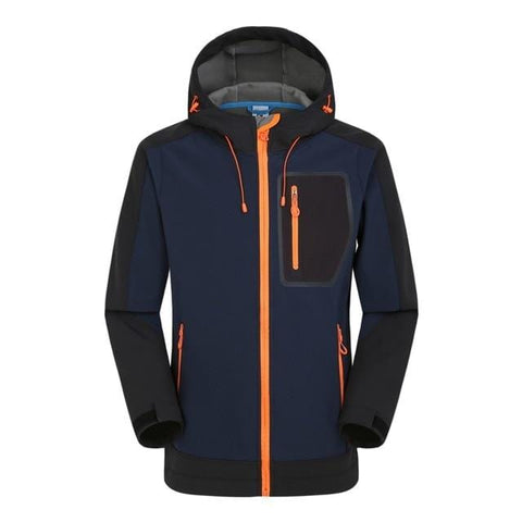 Explosion Models Classic Men's Stitching Soft Shell Jacket