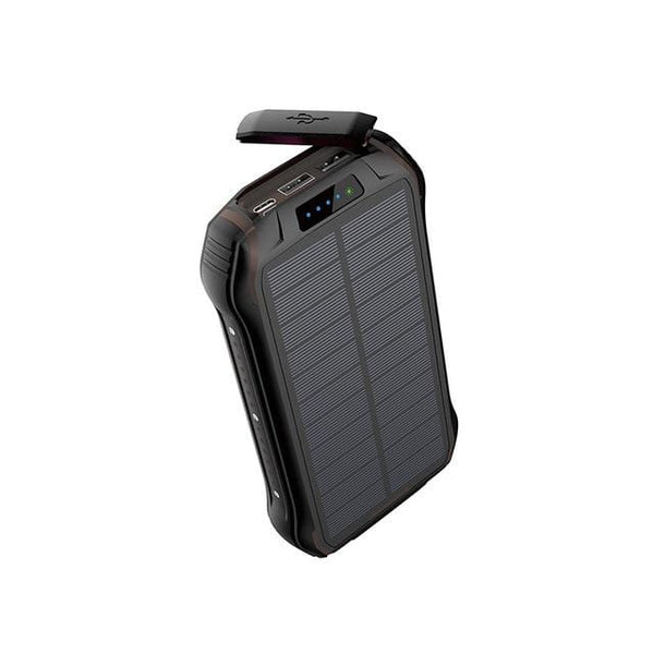 Super Large Capacity Wireless Solar Mobile Power Bank Supply 30000 MAh