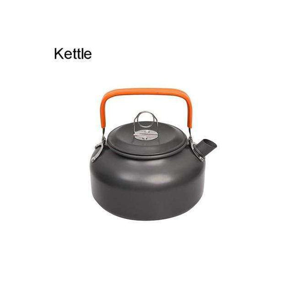 Camping Cookware Kit Outdoor Aluminum Cooking Set