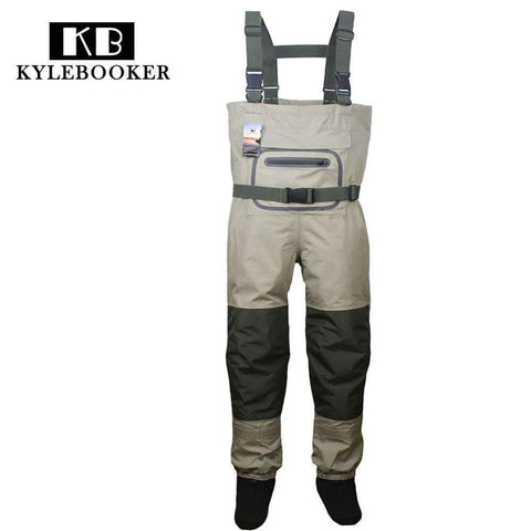 Breathable Hunting Fishing Chest Waders Waterproof and Lightweight