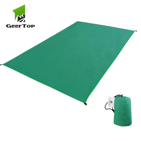 Camping Ground Sheet Green Color Ultralight Waterproof
