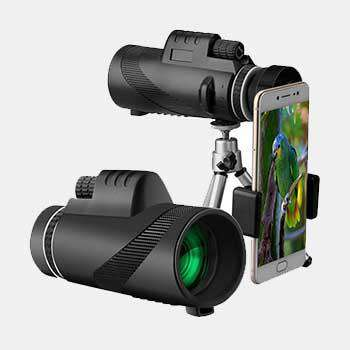 Wide View Portable BAK4 40*60 Monocular Telescope