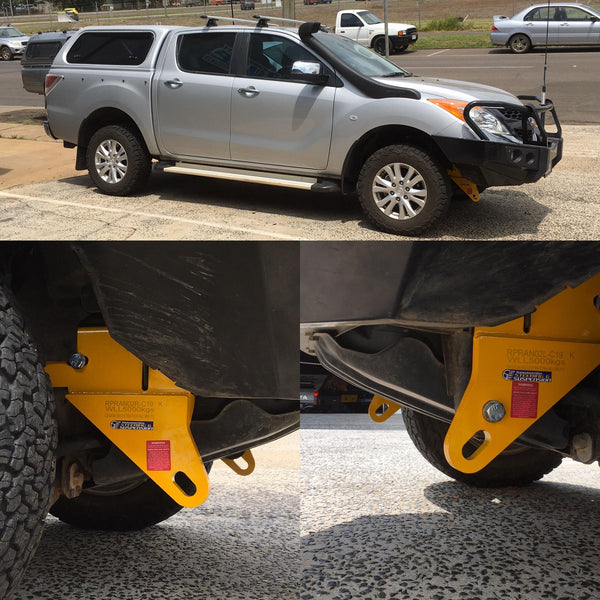 Mazda BT50 2012-on Roadsafe 4wd Recovery Tow Points RP-RAN02