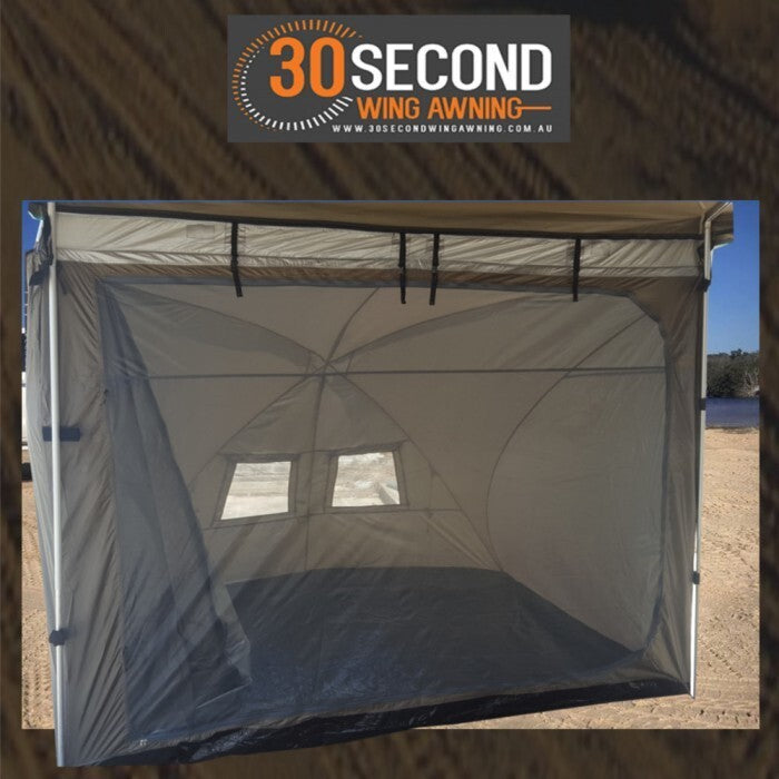 30 Second Awning Dome Tent