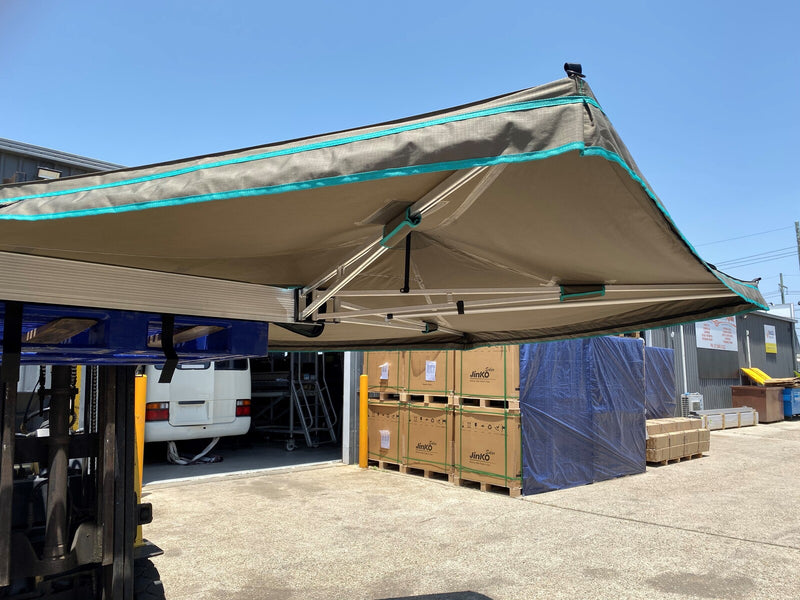 2.1m 30 Second Awning - Ideal for Smaller Dual Cabs and SUV's