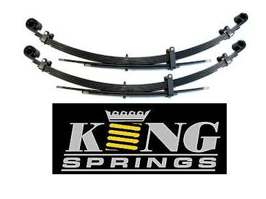 Ford Falcon XR XT XW XY 6CYL Sedan 1967-1972 Superlow King Spring Rear Leafs
