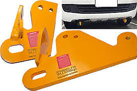Volkswagen Amarok 2009 on Roadsafe Rated Recovery Tow Points Kit