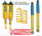 Toyota Fortuner GUN156 4wd Bilstein Lift Kit