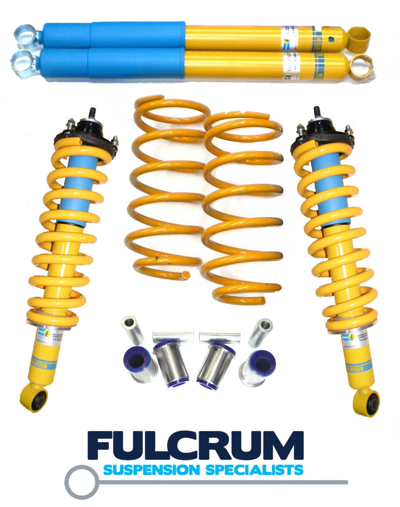 Nissan Navara NP300 Bilstein / King Springs Lift Kit - Coil Srung rear