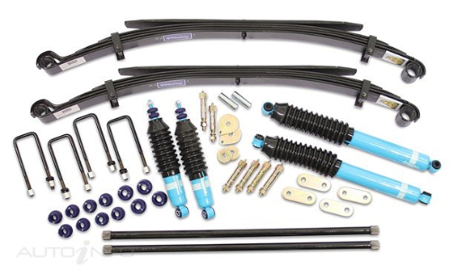 Nissan Navara D22 4wd Formula 4wd Suspension Lift Kit - With Torsion Bars