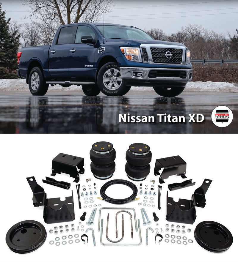 Nissan Titan XD 2016 - Current Polyair Ultimate Bellow Airbag Kit