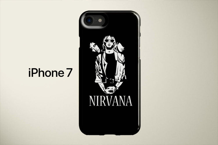 Nirvana Black And White Apple iPhone 7 Cover Case