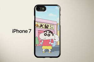 Shinchan And Shiro Apple iPhone 7 Cover Case