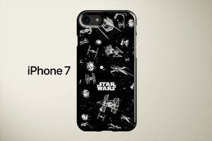 Star Wars Ships Apple iPhone 7 Cover Case