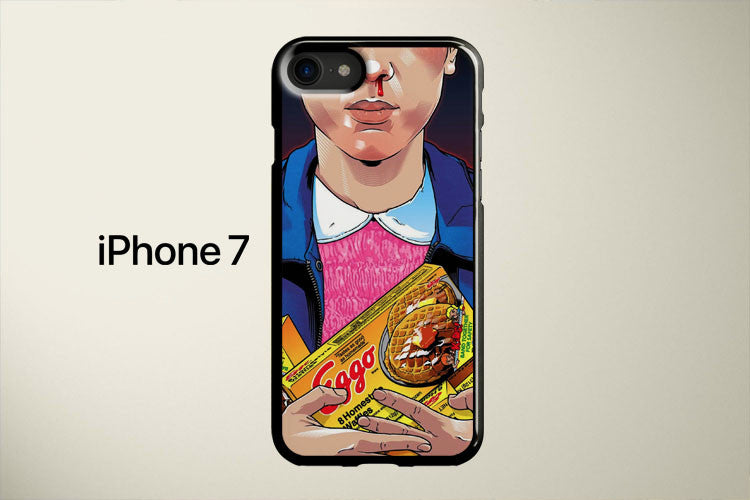 Stranger Things Eleven Eggo Apple iPhone 7 Cover Case