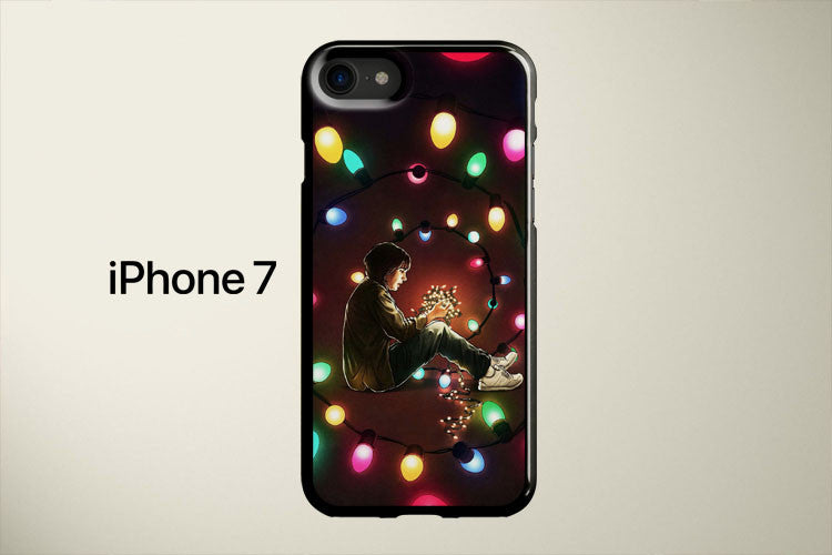 Stranger Things Lights Run Apple iPhone 7 Cover Case