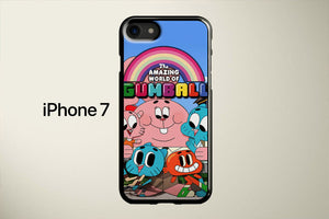 The Amazing World of Gumball Characters Apple iPhone 7 Cover Case